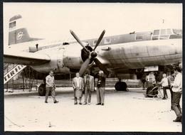 C0460 - TOP Foto - Flugzeug Interflug DDR - Propellerflugzeug - 1946-....: Moderne