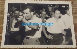TIR A LA CARABINE PHOTO DE FOIRE FETE FORAINE STAND DE TIR MONTAGE PHOTO SURREALISME,105x75MM - Personas Anónimos