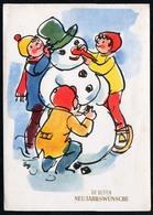 C0464 - Glückwunschkarte - Neujahr DDR - Koepper - Neujahr