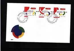 Denmark 1995 ATM FDC - Dänemark