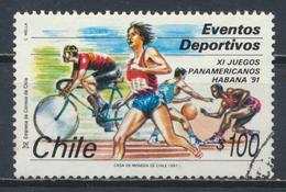 °°° CILE CHILE - Y&T N°1051 - 1991 °°° - Cile