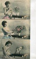 FANTAISIE(FEMME) SERIE DE 6 CARTES - Femmes