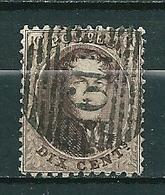 Nr 14A Gestempeld P 119 TONGRES - Cote 4,50 + COBA 8,00 - 1863-1864 Médaillons (13/16)