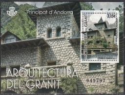 Andorra Español 2017 Bloc Feuillet Architecture Neuf ** - Spanisch Andorra
