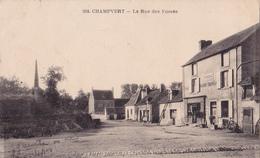 CHAMPVERT 58 Pres De DECIZE   ( LA RUE DES FOSSES ) - France