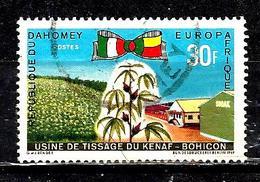 DAHOMEY 282° 30f Europafrique Usine De Tissage De Kenaf (10% De La Cote + 015) - Benin - Dahomey (1960-...)