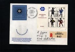 Schweiz / Switzerland 1974 100 Years Of UPU - Post