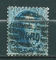 Nr 15A Gestempeld P NORD - Cote 4,50 + COBA 5,00 - 1863-1864 Médaillons (13/16)