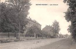 Beyne-Heusay - Les Ecoles (animée, Rails) - Beyne-Heusay