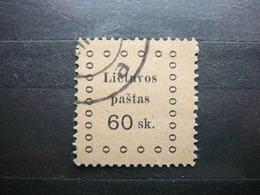 Kaunas Issue # Lietuva Lithuania Litauen Lituanie Litouwen # 1919 Used # Mi. 19 - Lithuania