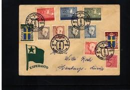 Sweden 1956 Esperanto Congress Interesting Cover - Esperanto