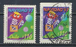 °°° CILE CHILE - Y&T N°1435/36 - 1997 °°° - Cile
