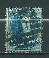 Nr 15A Gestempeld P EST - Cote 4,50 + COBA 10,00 - 1863-1864 Médaillons (13/16)