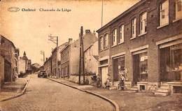 Ombret - Chaussée De Liège (animé, Boutique, Oldtimer  Non Circulée) - Amay