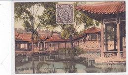 CARD CINA CARTOCINO  NORTH CINA SHANTUNG CITY LAKE IN CHINANFU   -FP-V -2-  0882 28450 - Chine