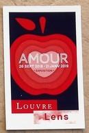 1 Ticket D'entrée Musée Louvre - Lens  Du 03/08/2018 Galerie Du Temps Expo AMOUR - Tickets D'entrée