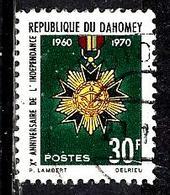 DAHOMEY 295° 30f Polychrome 10ème  Anniversaire De L'indépendance (10% De La Cote + 015) - Benin - Dahomey (1960-...)