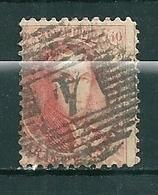 Nr 16A Gestempeld P4 ANVERS - Cote 30,00 - 1863-1864 Médaillons (13/16)