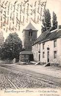 Saint-Georges-sur-Meuse - Un Coin Du Village (Edit. E. Lemeye, 1909) - Saint-Georges-sur-Meuse
