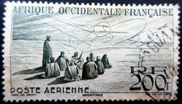 1947  France (ex-colonies & Protectorats) > A.O.F. PA14  Mauritanie Vision Maure Oblitéré - A.O.F. (1934-1959)