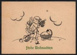 C0476 - H. Schmuderer Glückwunschkarte Weihnachten Engel Angel - Hastei Chemnitz Adelsberg - Weihnachten