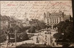 Ak Strassburg - Kleberplatz - Gel. 1910 - Strasbourg