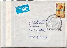 Postal History: Israel Cover - Christmas