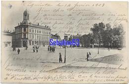 Albi - L'Hotel Des Postes Et La Place Du Vigan - 1903 - Albi