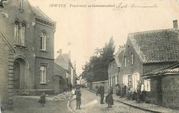 """OPWYCK.""""Pensionaaten Gemeenteschool"""" 1911 - Belgium"""