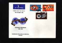 Nigeria 1974 UPU FDC - UPU (Universal Postal Union)