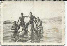 Small Photto - Swimming - Sibenik Croatia 1939 - Personnes Anonymes