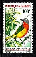 DAHOMEY Aer38° 100f Oiseaux Gladiateur à Poitrine Rouge (10% De La Cote + 015) - Benin - Dahomey (1960-...)