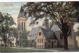 Maine Augusta St Mark's Church 1911 - United States