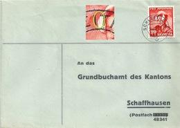 Brief  Schleitheim - Schaffhausen  (PJ Frankatur)           1943 - Svizzera