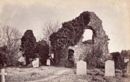 Ecosse Eglise St Fillan's Forgan Church Ruines Ancienne Photo James Valentine 1880 - Anciennes (Av. 1900)