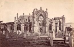 Ecosse Abbaye De Melrose Abbey Ruines Ancienne Photo James Valentine 1880 - Anciennes (Av. 1900)