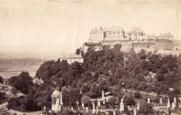 Ecosse Chateau De Stirling Depuis La Tour Ancienne Photo James Valentine 1880 - Anciennes (Av. 1900)