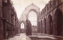 Ecosse Chapelle D'Holyrood Chapel Nef Ruines Ancienne Photo James Valentine 1880 - Anciennes (Av. 1900)