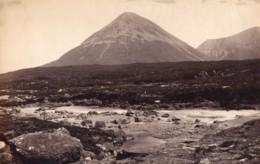 Ecosse Skye Glamaig Glen Sligachan Ancienne Photo James Valentine 1880 - Anciennes (Av. 1900)