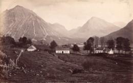 Ecosse Glencoe Le Lieu Du Massacre Ancienne Photo James Valentine 1880 - Anciennes (Av. 1900)