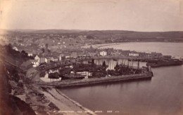 Ecosse Stonehaven Le Port Depuis Bervie Braes Ancienne Photo James Valentine 1880 - Anciennes (Av. 1900)