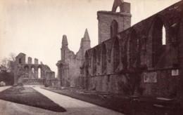 Ecosse Abbaye Arbroath Abbey Ruines Ancienne Photo James Valentine 1880 - Anciennes (Av. 1900)