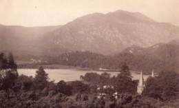 Ecosse Loch Achray Trossachs Hotel Ben Venue Ancienne Photo James Valentine 1880 - Anciennes (Av. 1900)