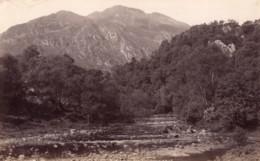 Ecosse Trossachs Et Ben Venue Ancienne Photo James Valentine 1880 - Anciennes (Av. 1900)