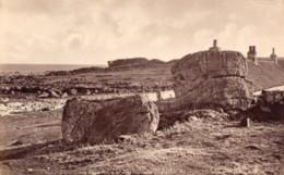 Ecosse East Neuk Of Fife Rochers Ancienne Photo James Valentine 1880 - Anciennes (Av. 1900)