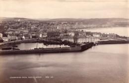 Ecosse Stonehaven Le Port Depuis Bervie Braes Ancienne Photo James Valentine 1880 - Old (before 1900)