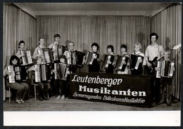 C0490 - TOP Leutenberg Leutenberger Musikanten - Autogrammkarte - König Lobenstein - Autographs