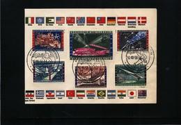 Belgium 1958 Brussels EXPO Interesting Cover - 1958 – Brüssel (Belgien)