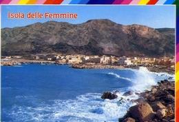 Isole Delle Femmine - Palermo - Scorcio Panoramico - Formato Grande Viaggiata Mancante Di Affrancatura – E 9 - Bagheria