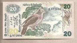 Ceylon - Banconota Non Circolata FdS Da 20 Rupie P-86a - 1979 - Sri Lanka